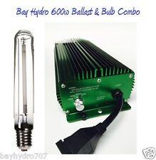 BAY HYDRO 600w Digital Dimmable Ballast & 600w HPS Bulb Combo Lumatek Solis Tek