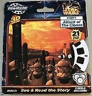 Star Wars 3d Reels Story Attack Of The Clones