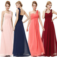 Womens Bridesmaid Long Ball Prom Gown Formal Evening Party Wedding Dress 09768