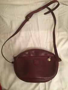 Vintage (80's) Celine Mini Bag Burgundy