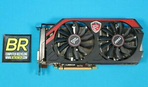 MSI N760 TF NVIDIA GeForce GTX 760 2GB PCI-Express Graphics Card. (2GD5/OC)