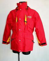 PEAK PERFORMANCE Goretex Red Ski Jacket Coat Insulate Thermolite Mens Size S