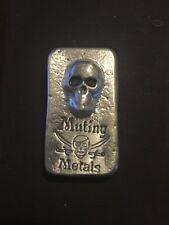Tombstone & Skull 1 oz .999 Fine Silver American USA Made Bullion AG-47 Bar