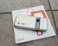 Sony Ericsson G502 in hellsilber  und OVP !