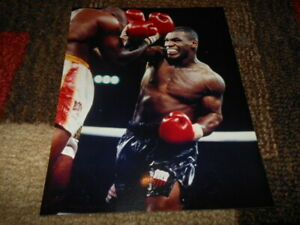 HEAVYWEIGHT CHAMPION MIKE TYSON UNSIGNED 8x10 PHOTOS