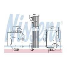 Genuine Nissens Gearbox Oil Cooler - 90807