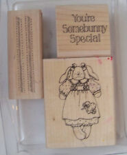 Stampin Up Somebunny Special Missing 1 great fun set Easter Spring scrapbooking