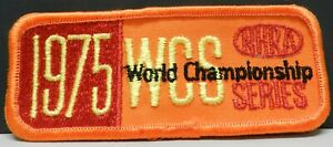1975 WCS FC PRO STOCK TF NHRA FORD CHEVY DODGE DRAG RACING PATCH HAT JACKET