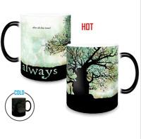 Harry Potter Magic mug Color Heat Sensitive Christmas Gift Color Changing  Mug
