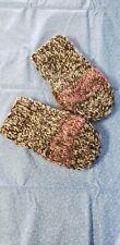 Handspun handmade thick adult Wool Mittens