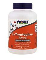 ✅Now Foods - L-Tryptophan 500mg - 120 Veg Caps