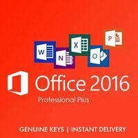 Office 2016 Pro Plus clave de Activación Digital con su link de descarga