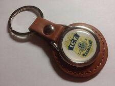 U.S.ICE 'Imigration & Customs Enforcement' Badge Leather  Key Ring