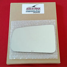 NEW Mirror Glass + Adhesive 08-11 FORD FOCUS Driver Left Side LH