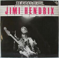 Jimi Hendrix The Legends Of Rock Double German Lp