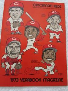 1973 Cincinnati Reds Yearbook Magazine