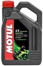 Motul 5000 10w40 4T Semi-syn Oil 4L & Oil Filter YAMAHA XJ600 S-D-H DIV 1992-96