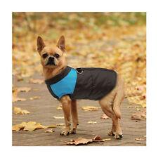 Vêtements et chaussures bleues en nylon pour chien
