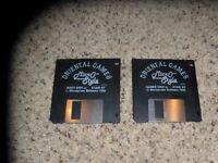 "Oriental Games Atari ST Near Mint Game on 3.5"" disks"