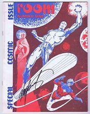 Foom Magazine #9 Signed w/COA Chris Claremont VF 1974 Silver Surfer Marvel