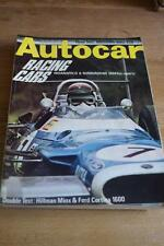 June Autocar Cars, 1960s Weekly Magazines