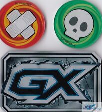 GX, Poison & Burned acrylic counters markers for Pokemon TCG CARDS sealed NEW