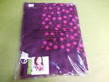 Vera Bradley Printed Poly Scarf ROSEWOOD DOTS New R$48.00