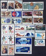 All 28 1975 Commemorative singles/blocks, Scott #1553-1580, MNH, F-VF