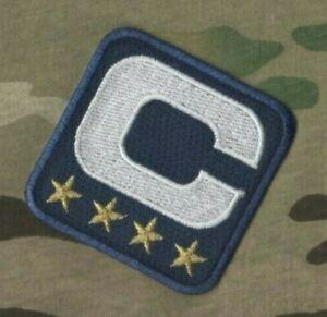 2020-21 Saison CAPITAINE Jersey 4 GOLD  ⭐ Star Captains Bleu Marine