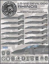 "1/48 Furball F-4J/S ""Lo Viz Devil Dog Rhinos"" Decals for the ZM kit"