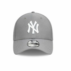 New Era New York Yankees Diamond Edition MLB Team 39Thirty Hat In Grey