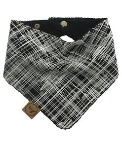 Dribble Bib SKETCH Baby Bandana Adjustable 100% Cotton/Terry Cloth