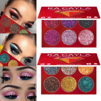 Shine  Waterproof Shimmer Eyeshadow Palette Pigment Glitter Eye Makeup
