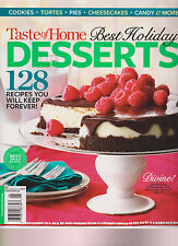 TASTE OF HOME MAGAZINE BEST HOLIDAY DESSERTS WINTER 2015, 128 RECIPES FOREVER!.