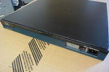 CISCO 2901-V/K9 2901 + VWIC2-2MFT-T1/E1 Gigabit Router Voice License VoIP Bundle
