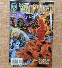 Comic, Los 4 Fantásticos, nº 6, Marvel Comic, Forum, Jim Lee, Brandon Choi, 1998