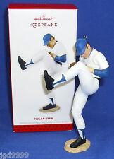 Hallmark Major League Baseball Ornament Nolan Ryan 2013 Texas Rangers Nib