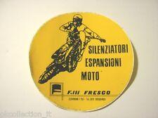 VECCHIO ADESIVO MOTO / Old Sticker Motorcycle MOTOCROSS CUMIANA TORINO (cm 12)