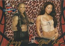 Gail Kim & Jazz Divas 2005 Cat Fights Trading Card #54 WWE WWF TNA Knockout
