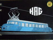 Catalogo treni HAG 1955 - DEU FRA