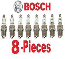8-Pieces OEM Bosch Super YTTRIUM Spark Plug F8DC4 Mercedes W124 R129 W140 W210