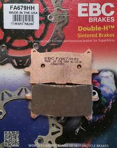 EBC/FA679HH Sintered Brake Pads Front for Honda CRF1000 Africa Twin 16-19, X-ADV