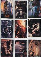 Alien Legacy 9 Card DVD Collection Insert Promo Set AU1-9