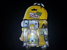 """THE SIMPSONS MANIA SERIES 3"""" QEE KEYCHAIN COLLECTIBLE HOMER SIMPSONS TOGA"""