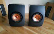 Kef LS 50 HiFi Bookshelf / Stand Mount Speakers - First Generation