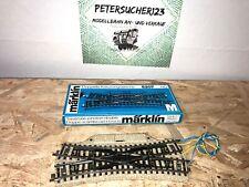 MÄRKLIN H0 elektrische Doppel-  Kreuzweiche M-Gleis 5207 in OVP MG1030  J120