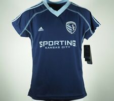 Sporting Kansas City Official Adidas MLS Youth Size Athletic Jersey New