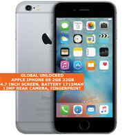 APPLE IPHONE 6S 2gb 32gb Unlocked Dual Core Face Detection Ios 4g Smartphone