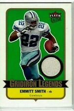 EMMITT SMITH 2007 FLEER ULTRA GRIDIRON LEGENDS GAME USED JERSEY