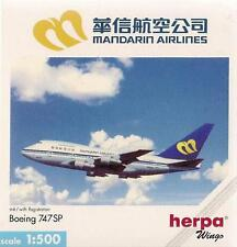 NEW HERPA WINGS 503464 MANDARIN AIRLINES BOEING MCDONNELL DOUGLAS MD-11 - 1:500